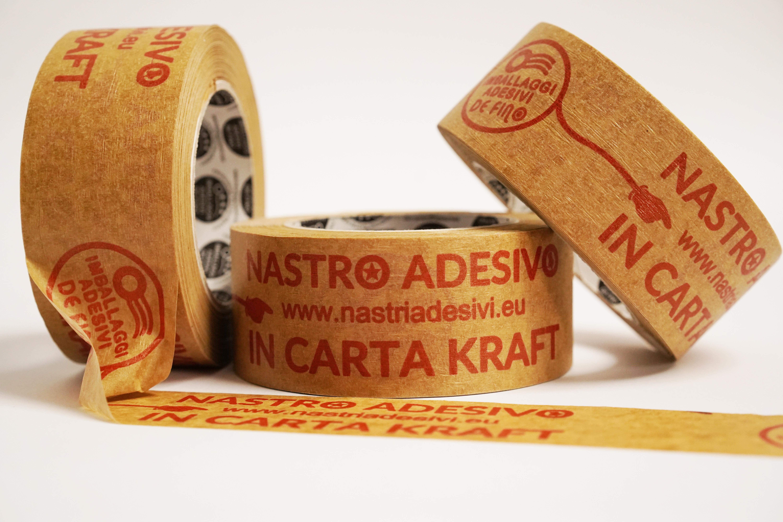nastro adesivo in carta personalizzato