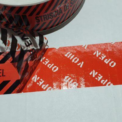 Etichette Antieffrazione Security Label